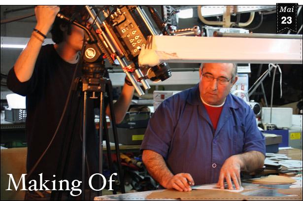 Unser Produktionsvideo entsteht