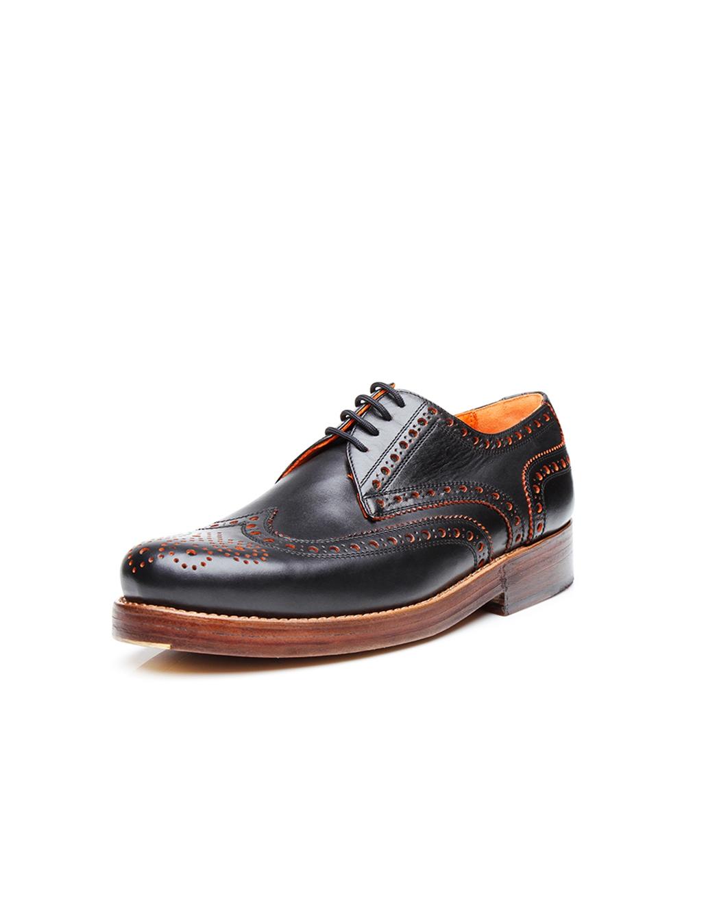 Original Budapest Mens Shoe D Island Shoes Slip On British Comfort Leather Dark Brown Discontinued Model