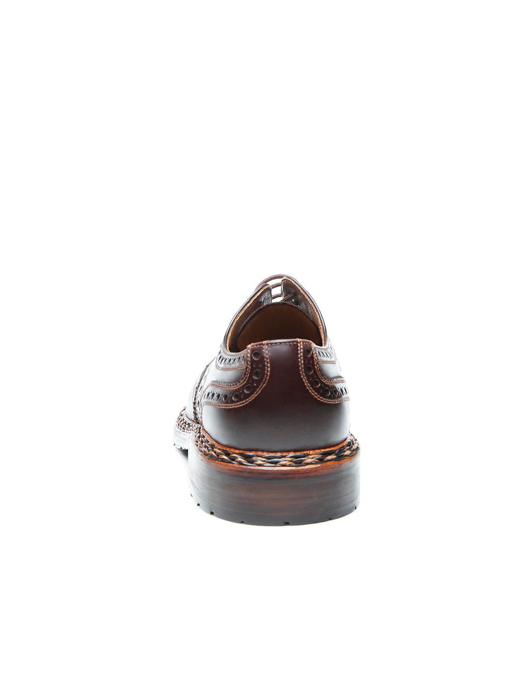 Original Budapester Mens Shoe In Mocha D Island Shoes Slip On British Comfort Leather Dark Brown Discontinued Model