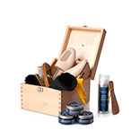 Schuhputzbox-Set