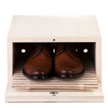 Boîte à chaussures en acajou