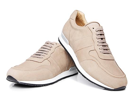 SHOEPASSION.com – Graue Herren-Sneaker aus Italien 0436424688