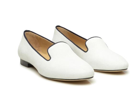 e33db534d9fa SHOEPASSION.com – Elegante Damen-Loafer in Weiß