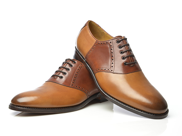 Los Saddle Shoes O Zapatos De Silla De Montar