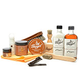 Shoe Cleaning Kit Cognac Premium