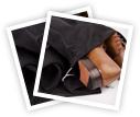 Ein Schuhbeutel