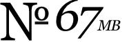 No. 67MB