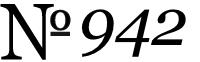 No. 942