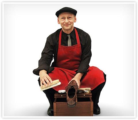 Schuhexperte Peter Borggreve