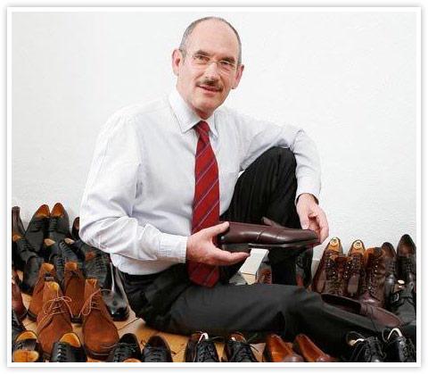 Schuhexperte Rainer Ersfeld