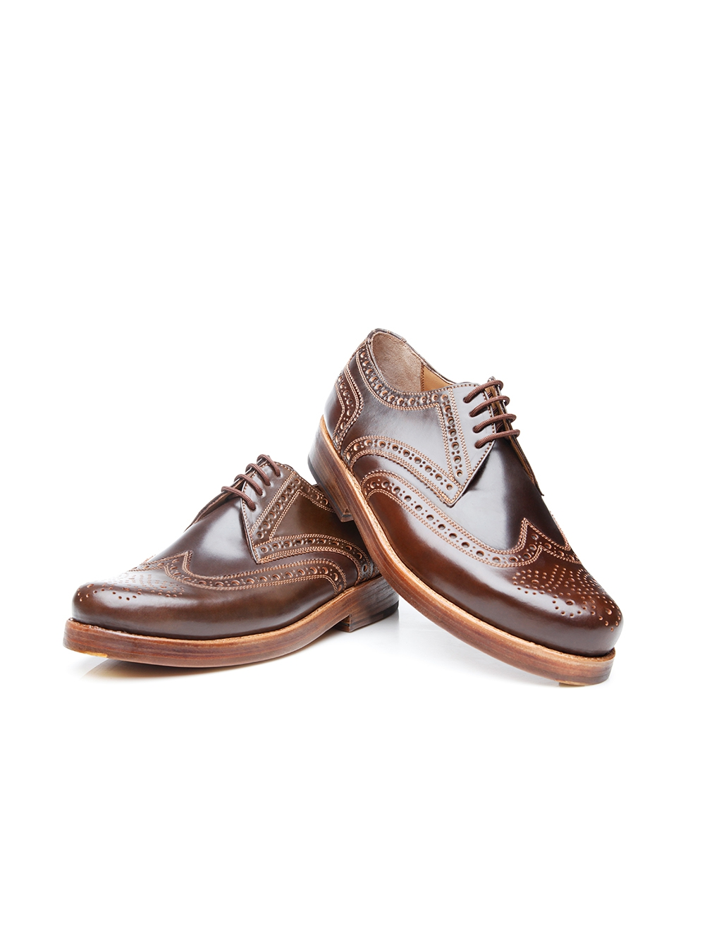 54d36045840 Budapest men's shoe in shell cordovan