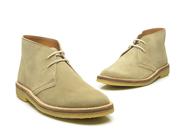 dc3a565e7ebe5 SHOEPASSION.com — Classic desert boot in beige