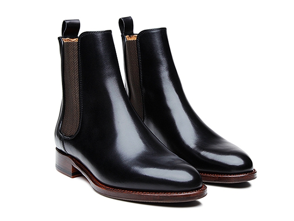285f2d610be78 SHOEPASSION.com – Fine women s Chelsea boot in black