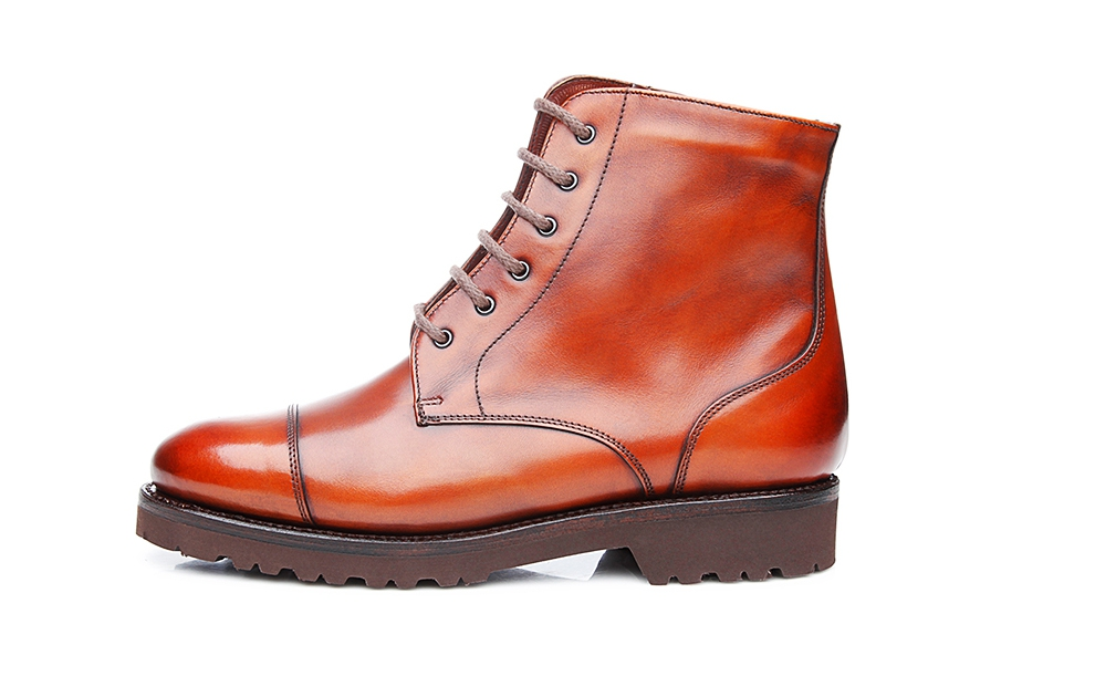 SHOEPASSION NO. 261 - Bottines à lacets cognac