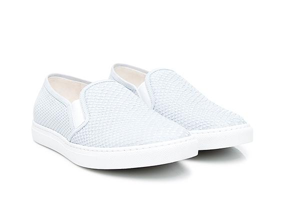 d39815933772 SHOEPASSION.com – Sneakers slip-on pour femme en nubuck