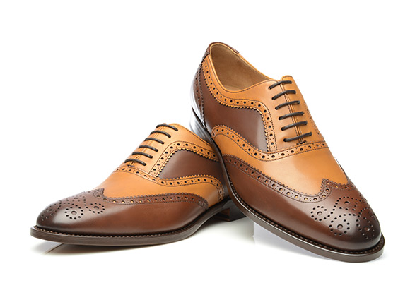 100% authentic limited guantity outlet SHOEPASSION.com – Goodyear-welted Two-Tone Brogue