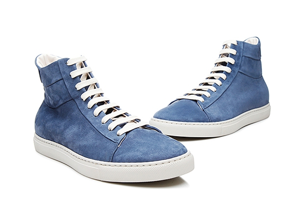 7f2c9e6c30 SHOEPASSION.com – High-top men s trainers in blue