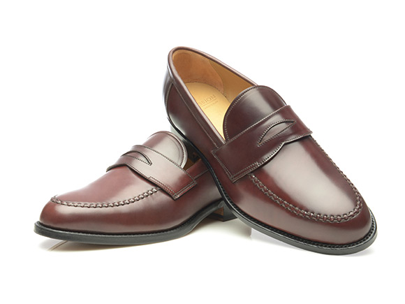bc28824c3c4 SHOEPASSION.com – Goodyear-welted penny loafer in shell cordovan
