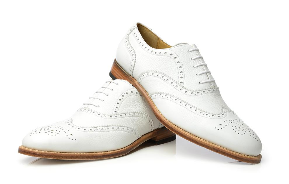 SHOEPASSION.com – Deerskin Shoe in white