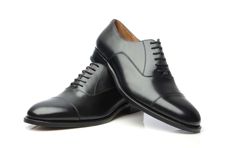 cd4a40a0c73 SHOEPASSION.com – Goodyear-welted Cap-Toe Oxford in black