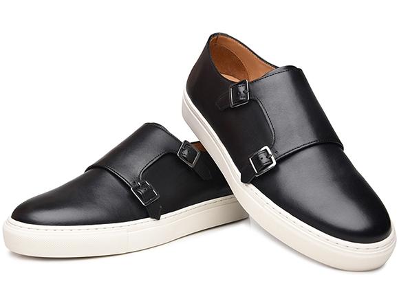 2abffbc7613c65 Doppel-Monkstrap Sneaker für Herren