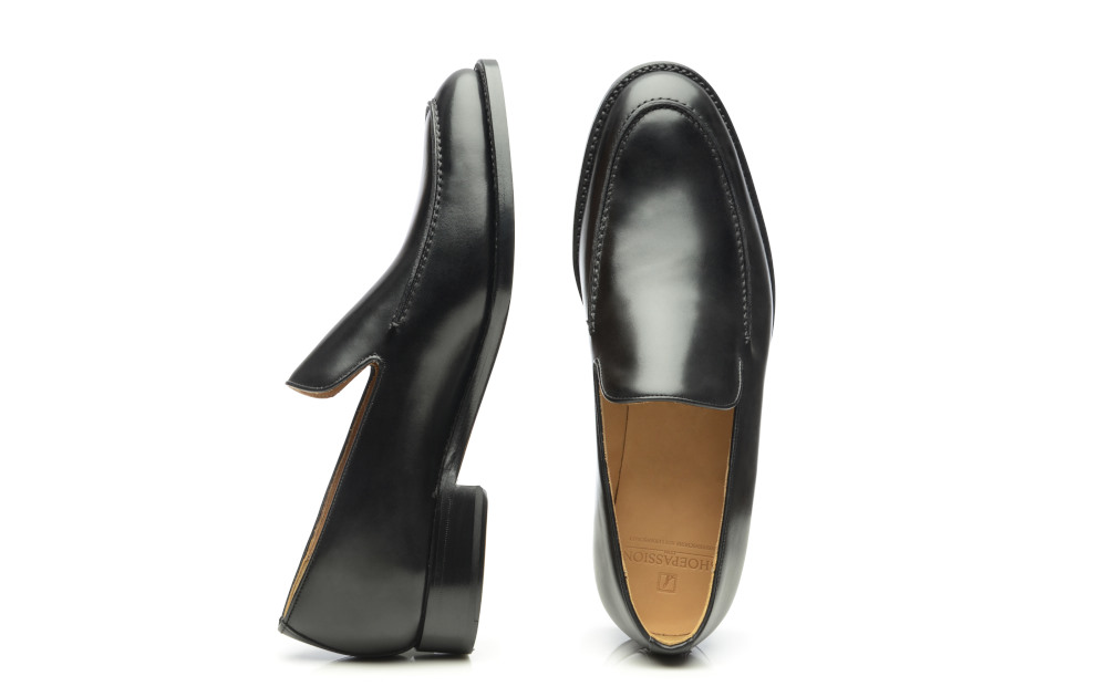 3698f147a69 SHOEPASSION.com – Goodyear-welted Prince Albert slipper in black