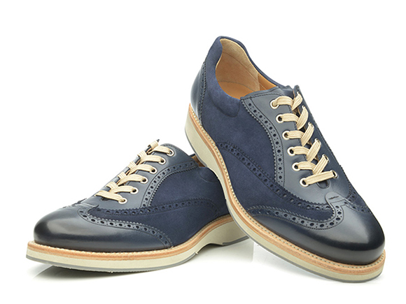 20fbe58217e0 SHOEPASSION.com – Sneakers cousus Goodyear pour homme en velours ...