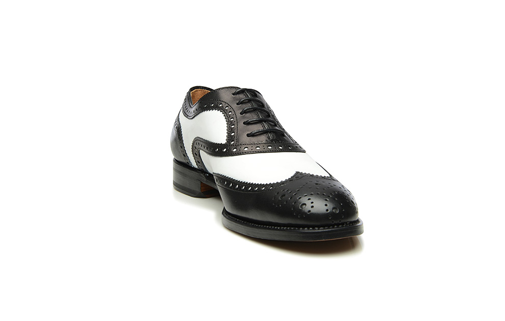 black and white shoes called