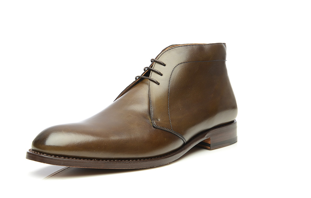 ed50b680 SHOEPASSION.com – Goodyear-welted George Boot in olive