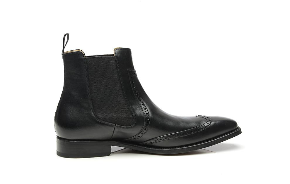 Model No. 664 – Goodyear genaaide full brogue chelsea boots