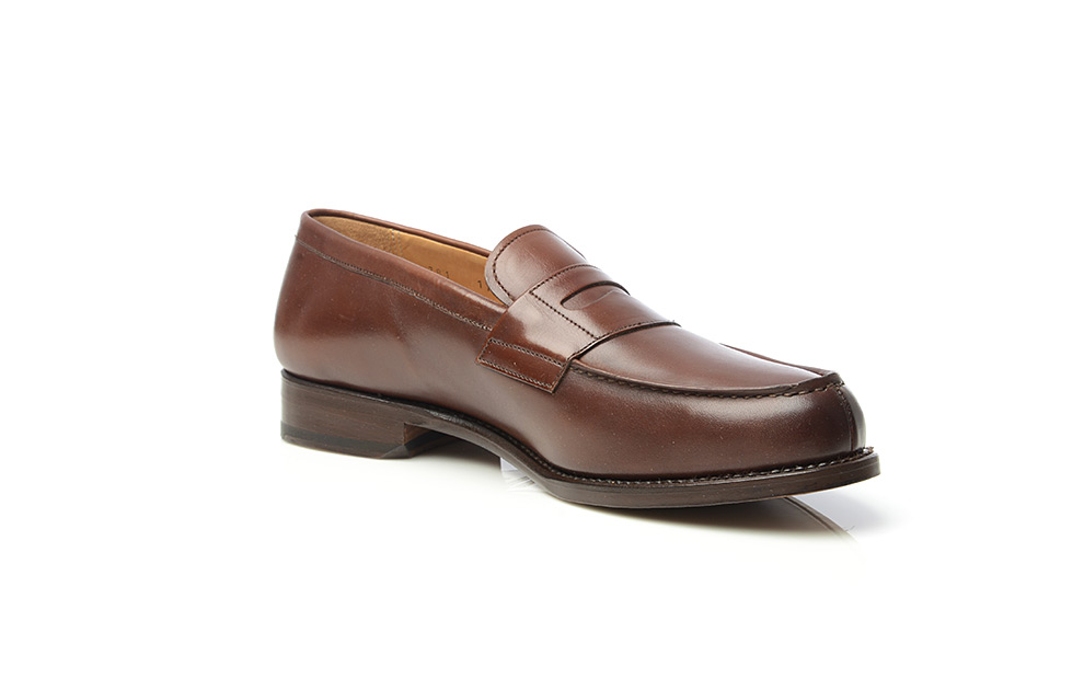 6ad5a2820a8 No. 781 – Penny Loafers in Dark Brown