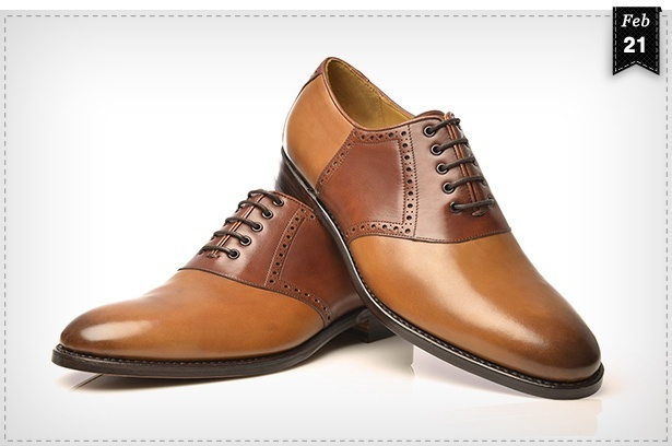 Amerikanischer Schuhklassiker – Saddle Shoes