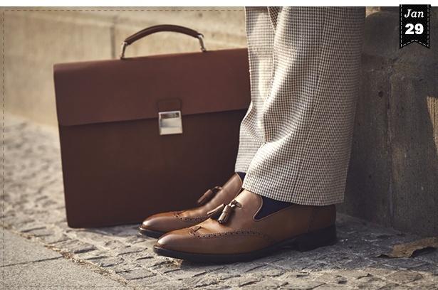 cheap for discount c188f 6a4f5 Dresscode: Herrentasche & Schuhe kombinieren